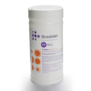 Bossklein Large V-Wipes Alcohol Free Surface Disinfectant